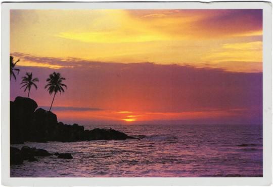 Postkarte Indien